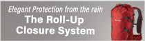 The roll-up closure system